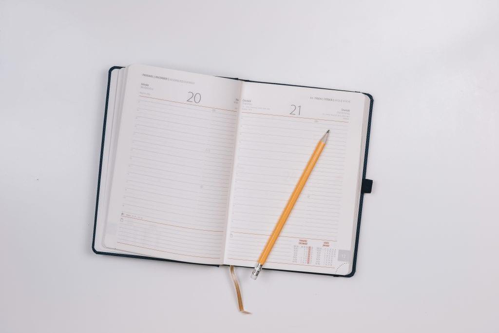 diary of symptoms